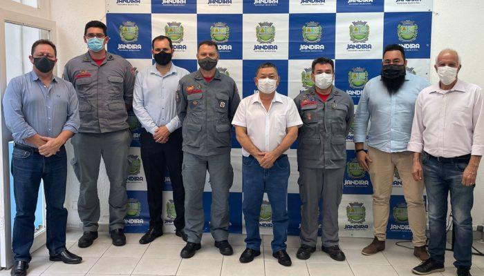 Jandira inicia processo para implantação de uma base do corpo de bombeiros na cidade